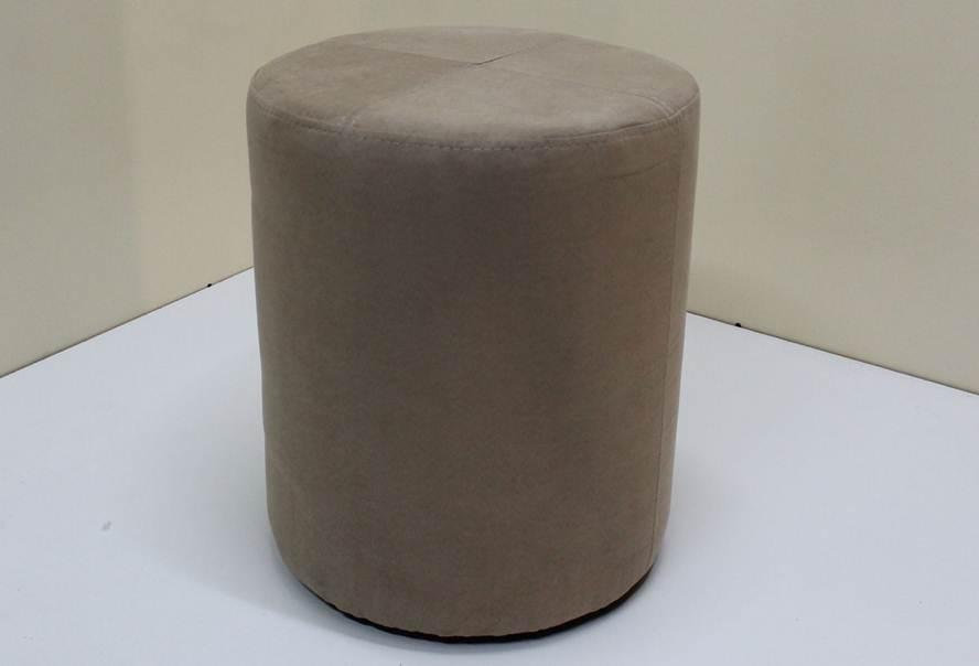 Пуф Д36 (флок коричневый)