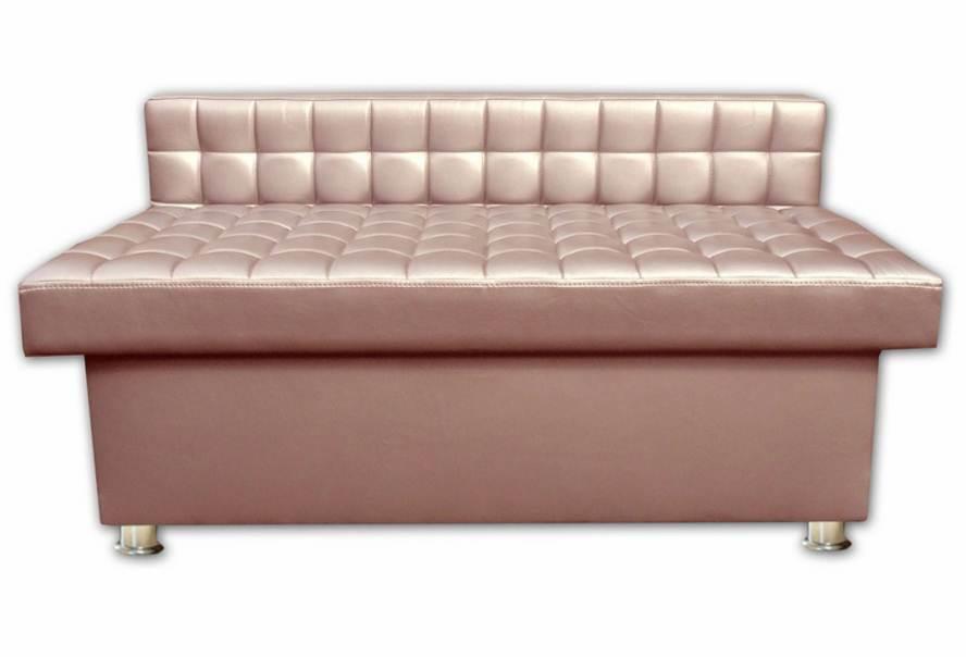 Банкетка Глазго (екокожа рожева)