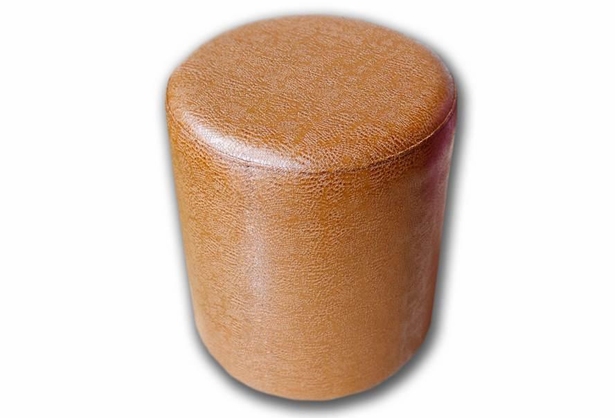 Пуф Д36 (экокожа глянец коричневый)
