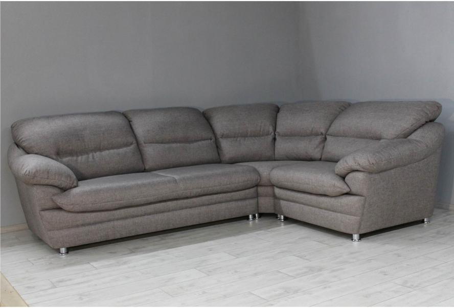 Кутовий диван Вайн (мікрофібра бежевий)