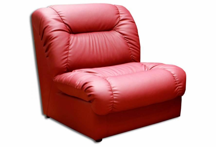 Крісло Візит (екокожа червоне)