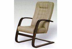 Кресло Хьюго (экокожа бежевый)