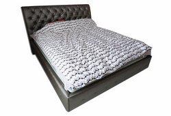 Кровать Валери (экокожа коричневый)