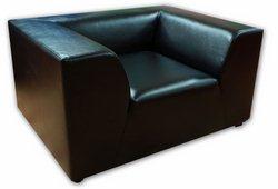 Кресло Сафари (экокожа черный)