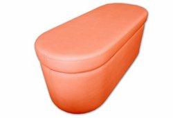 Банкетка Рондо с ящиком (экокожа красная)