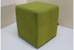 Пуф Куб (микрофибра зеленый)