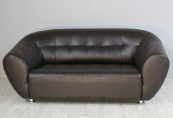 Диван Магнат (экокожа темно-коричневый)