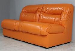 Диван Визит (экокожа оранжевый)