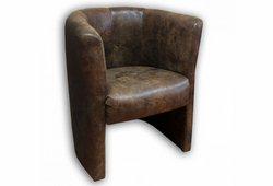Кресло Бонус (экокожа коричневый)