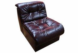 Кресло Клуб (экокожа бордовое)