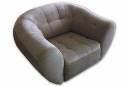 Кресло Магнат (замш серый)