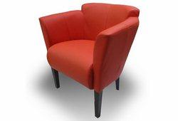 Кресло Мишель (экокожа  красное)