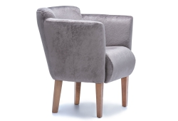 Кресло Мишель (велюр коричневый)