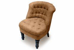 Кресло Прованс (нубук коричневый)