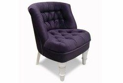 Кресло Прованс (велюр темно-фиолетовый)