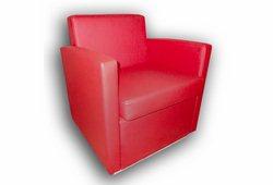 Кресло Вуди (экокожа красное)