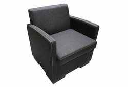 Кресло Вуди (рогожка серое)