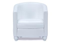 Кресло Фортуна (экокожа белый)