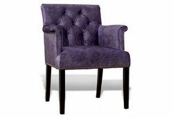 Кресло Ришелье (велюр фиолетовый)