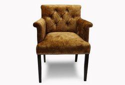 Кресло Ришелье (велюр светло-коричневый)