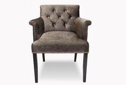 Кресло Ришелье (велюр коричневый)