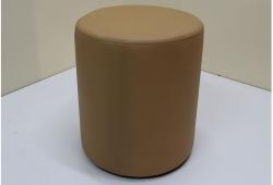 Пуф Д36 (экокожа коричневый)