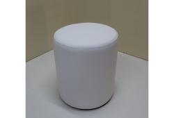 Пуф Д36 (экокожа белый)
