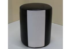 Пуф Д36 (экокожа черно-белый)