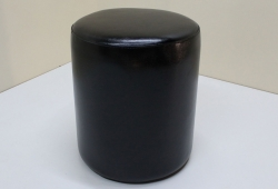 Пуф Д36 (экокожа глянцевая черный)