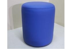 Пуф Д36 (экокожа синий)