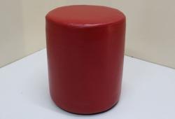 Пуф Д36 (экокожа глянцевая красный)