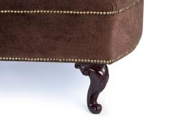 Софа Ноэль (велюр коричневый)