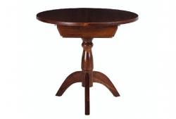 Стол круглый Гирне 03 (коричневый)