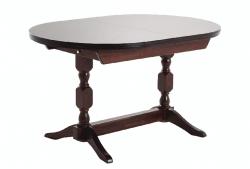 Стол овальный Гирне 04 (коричневый)
