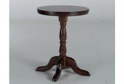 Стол круглый Гирне 05 (коричневый)