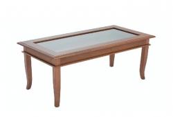 Стол прямоугольный Сорино (коричневый)