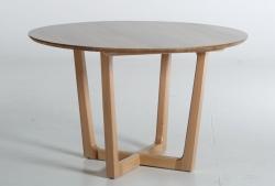 Стіл круглий Вестон (коричневий)