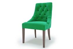 Стул Соренто (зелёный, ножки орех)