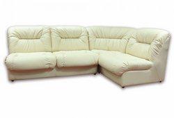 Угловой диван Визит (экокожа бежевый)