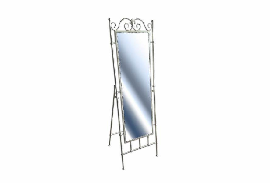 Зеркало напольное (бежевое серебро)